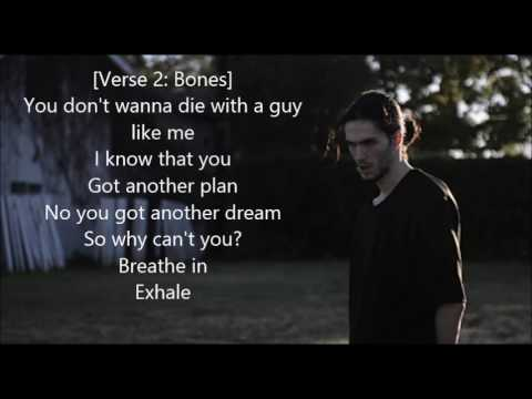 Bones - WhereTheTreesMeetTheFreeway On Screen LYRICS! (Lyric Video)