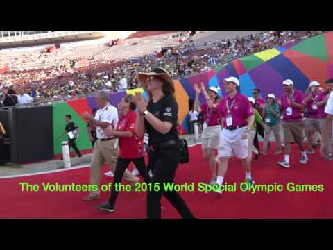 Special Olympic World Games Los Angeles 2015 Closing Ceremony