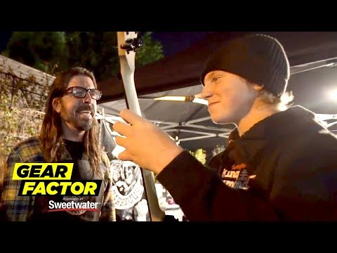 Dana McKenzie - Dave Grohl Cooks BBQ + Makes a Young Fan's Day!