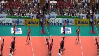バレーボールワールドリーグ予選  3D volleyball Japan vs Tunisia