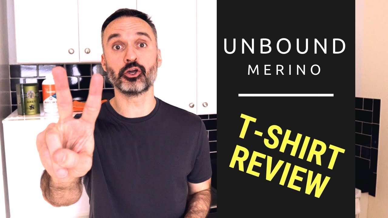 b183596ada0c93 Unbound Merino T-Shirt ♢ Merino Wool Shirt Review - YouTube