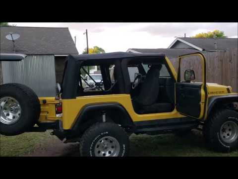 how to install jeep wrangler soft top