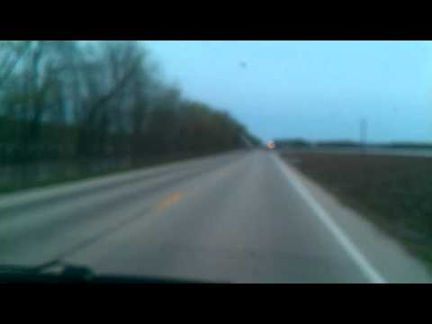 Flooding near Vandalia, Illinois 4/21/13