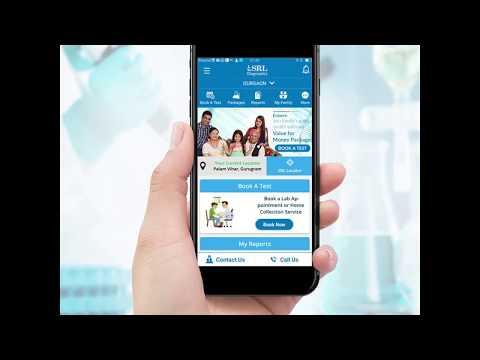 Book A Test With SRL Diagnostic App