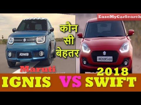 2018 Maruti Swift Vs Maruti Ignis Swift Vs Ignis 2018 Maruti Swift 2018 Ignis Easemycarsearch