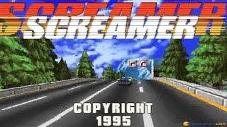 Screamer gameplay (PC Game, 1995)