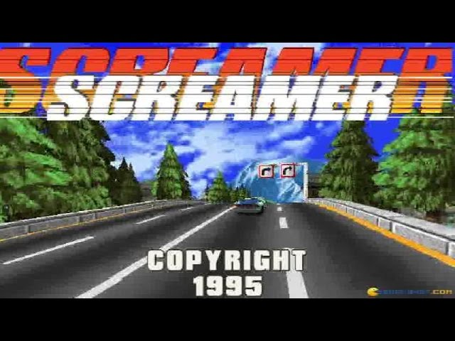 Screamer gameplay (PC Game, 1995)