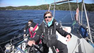 How to reef quickly and easily – Skip Novak's Storm Sailing