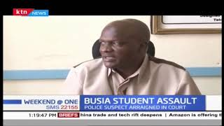 Suspect accused of assaulting student in Busia arraigned in court