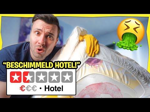 Slapen In Het SLECHTSTE HOTEL Van Nederland! (Ziek Geworden 🤢)