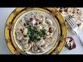 Sour Cream Mushrooms Recipe - Armenian Cuisine - Heghineh Cooking Show