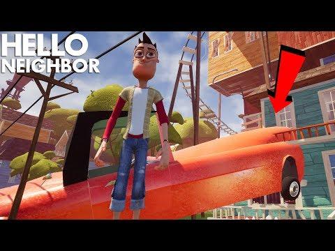 MODDING WITH THE NEIGHBOR!!! | Hello Neighbor (Beta 3 Mods)