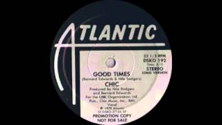 Chic   Good Times (atlantic Records 1979)