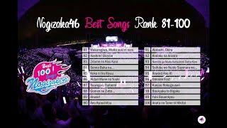 [MP3] Nogizaka46 100 Best Songs (Rank 81-100)