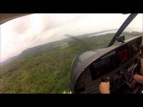 Landing in Gunung Sitoli, Nias, Sumatra, Indonesia - Susi Air Cessna Grand Caravan C208B