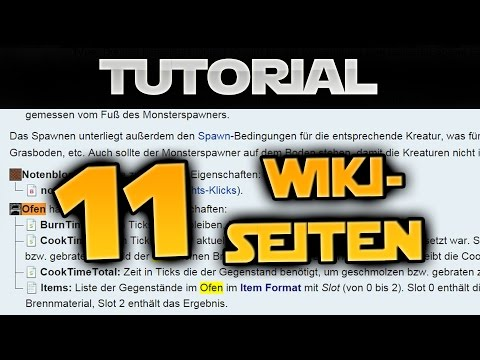 11 Sehr Hilfreiche Seiten Im Minecraft-Wiki