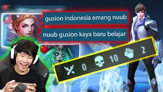 Prank Top 1 Gusion Mati 10X - Mobile Legends