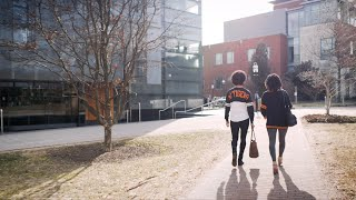 Claudia and Laura, Paths in Computer Science at Princeton University