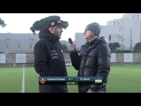 Testspiel: SG Dynamo Dresden gegen FC Zürich