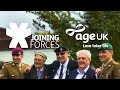 Older veterans welcome a new generation of soldiers | Joining Forces | Age UK