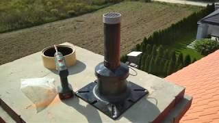 Montaż kotłowni gazowej i sterowania do ogrzewania podłogowego.