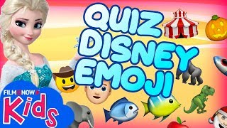 INDOVINA I FILM DISNEY DALLE EMOJI!