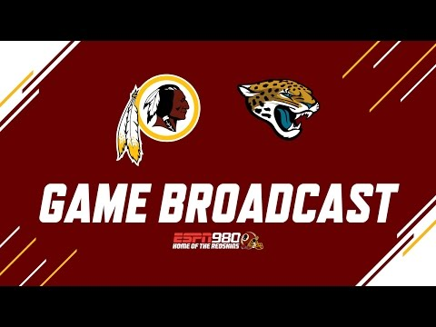 Redskins Radio Booth LIVE vs. Jaguars