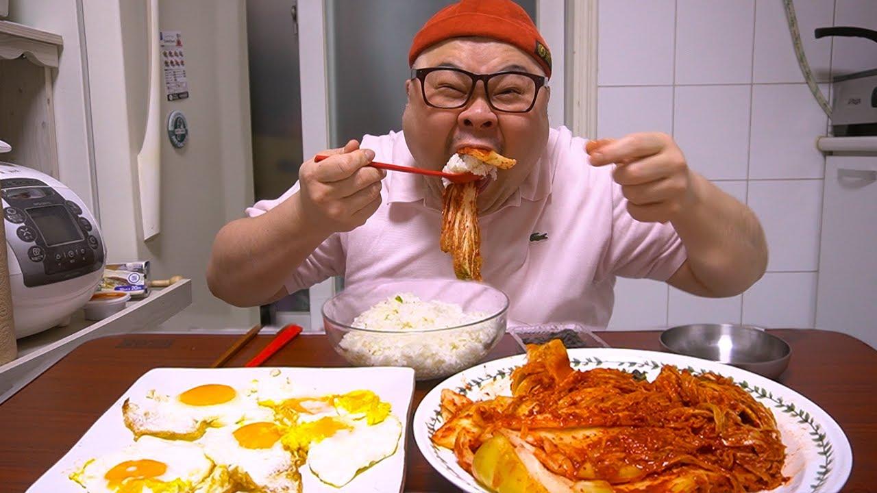 이것이 바로 김치먹방│한국인의 밥상 ㅋㅋ my mom's Kimchi  Mukbang Eatingshow