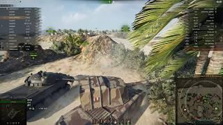 FV4005 Имба тащит бой своим убивающим фугасом