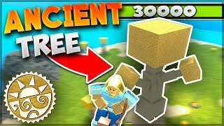 How To Get To The ANCIENT TREE *LEGIT* SECRET NEW ISLAND, Flying Glitch? - Roblox: Booga Booga