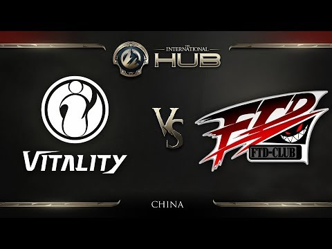 iG.Vitality vs For The Dream - TI8 China Regional Qualifiers: Group Stage