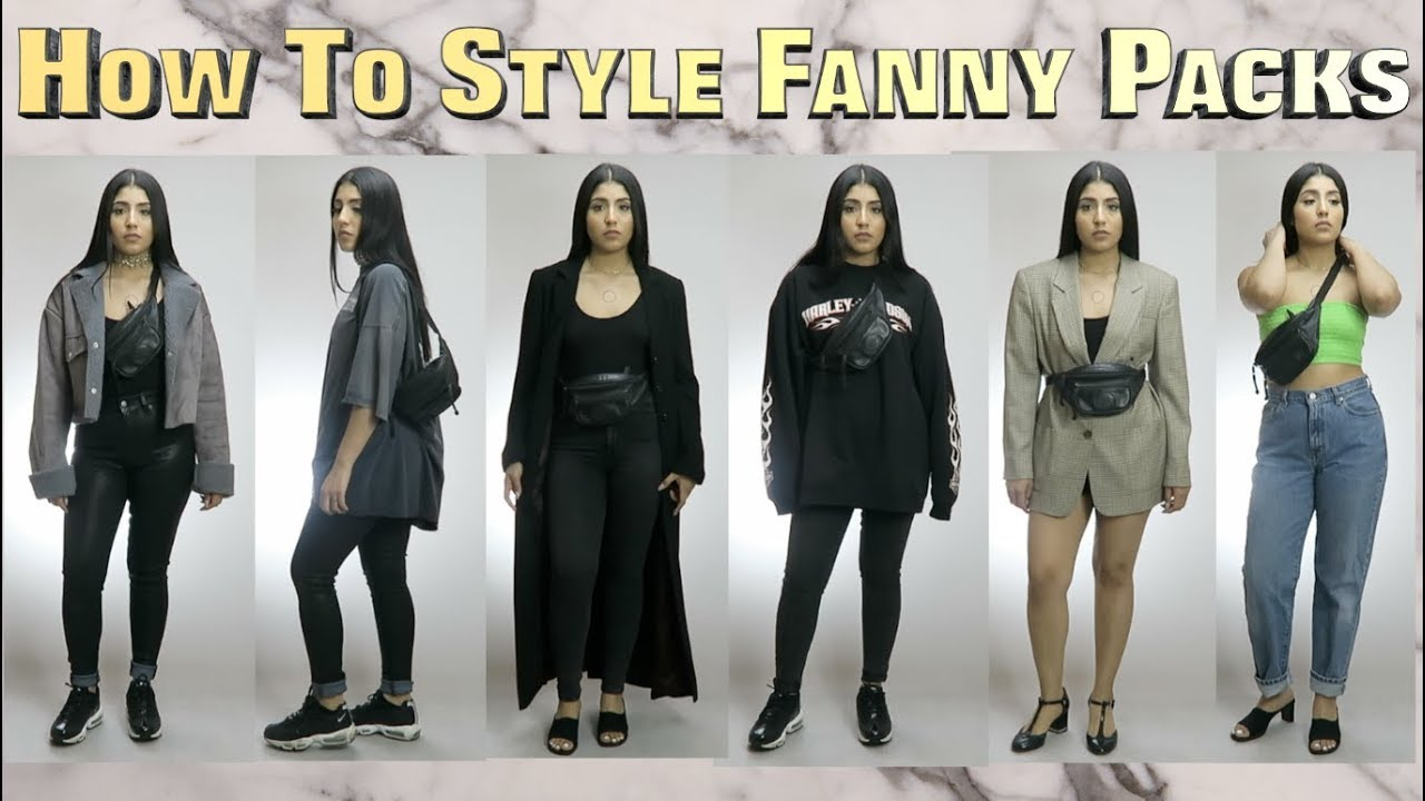 a3fb85c7d7b62b HOW TO STYLE FANNY PACK ||TREND ALERT 2018 - YouTube