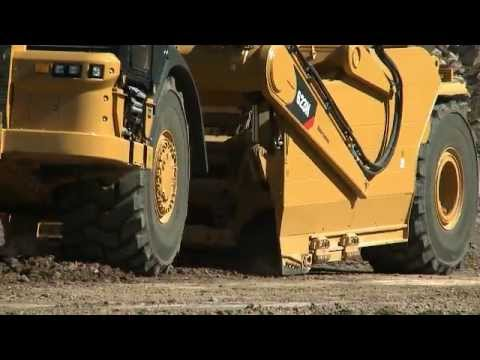 Cat® Grade Control For Wheeled Tractor Scrapers | Basic Operation