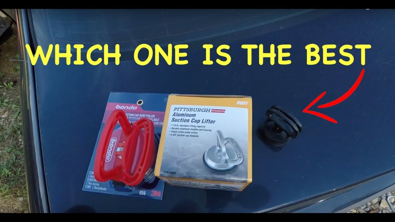 Harbor Freight VS Walmart Suction Cup Dent Puller Review !!!