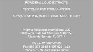 "Raw Material Ingredients Specialists  ""R & S"""
