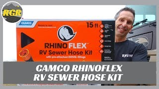 Camco RhinoFLEX RV Sewer Hose Kit, 15' | Product Review | What it is/does