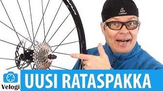 Polkupyörän rataspakan vaihto