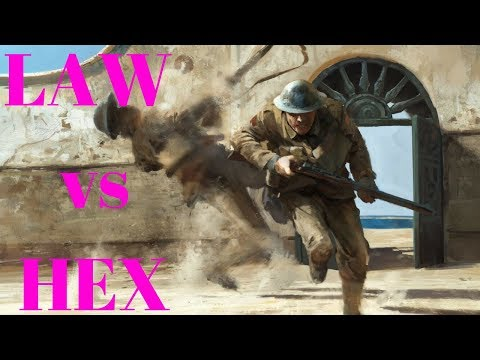 LAW vs HEX (Suez) Battlefield 1 Platoon Battle