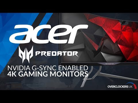 Acer Predator G-Sync Enabled Gaming Monitors - Available at Overclockers UK