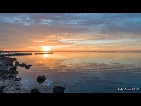 Sunrise over Bellport Bay 11-1-17