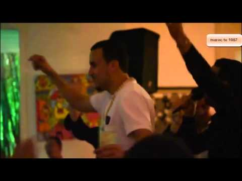FRENCH MONTANA   maroc chaabi dance فرانش مونتانا يرقص على إيقاع الشعبي