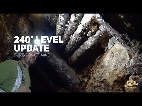 Bates Hunter Mine | 240' Level Update