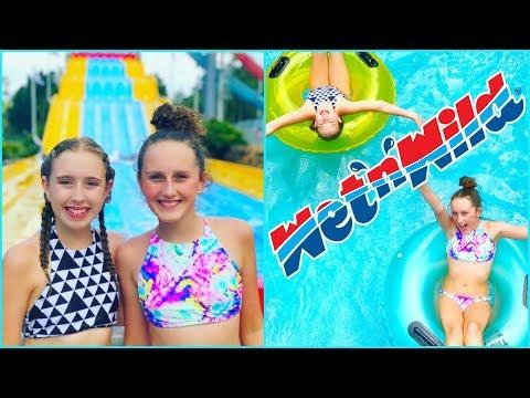 Theme Park Vacation Fun! Wet N Wild! - Millie and Chloe DIY