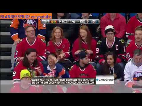 December 13 2014 Blackhawks at Islanders Clark Gillies Night