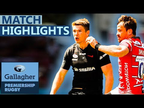 SEMI-FINAL | Saracens v Gloucester | A Battle For The Final | Gallagher Premiership - Highlights