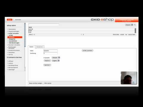 Attribute Erstellen In OXID EShop