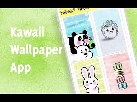 Kawaii Wallpaper HD App Cute Backgrounds Images ! Android kawaii app