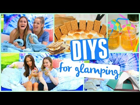 DIY Glamping! Backyard Camping DIY Ideas & Life Hacks!
