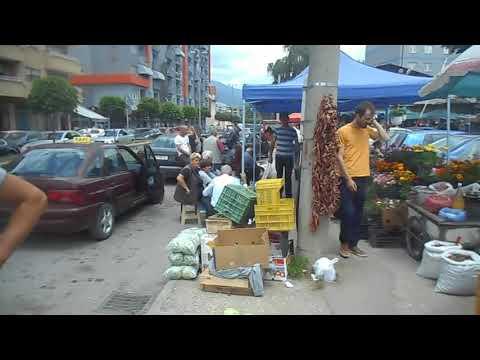 Market in Tetovo (Tetovë), North Macedonia