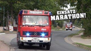 [Einsatz-Marathon!] 3x Sirenenalarm & Einsatzfahrten Feuerwehr Deutsch Evern bei Übungstag